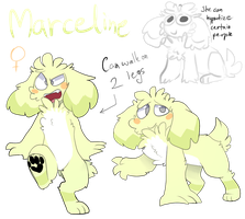 Marceline Marcy ref by LionMushrooms