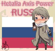 Hetalia Axis Power Russia by leadervance