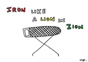 Iron Like A Lion From Zion by Jordan-Austin