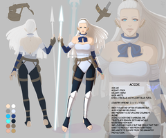 Character sheet: Aoide by nominee84