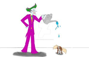 Joker and Gizmo by Mad--Munchkin