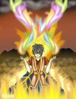 Ultimate Bender-Zuko of fire by Kitsoa