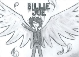 Billie Joe angel. by Diamond-Racer