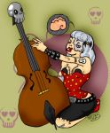 Psychobilly baby by EvilCreampuff