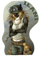 Giant Con Badge: Ilani by SpiritCreations