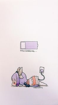 now charging... by creamsherry