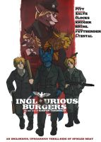 Inglourious Burgers by Tanginello