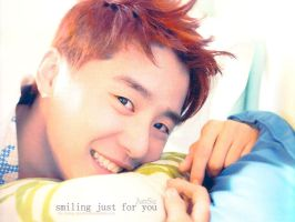 JunSu - Smiling Just for You by crying-ophelia