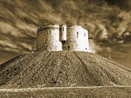 Clifford's Tower York by davepphotographer