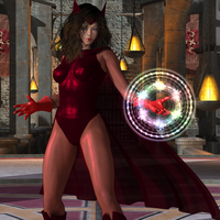 Scarlet Witch by CalvadosJapan