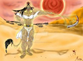 Sekhmet by Amazon-Huntress