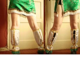 Xing Cai Skirt + Boot Covers by GraceyDarling