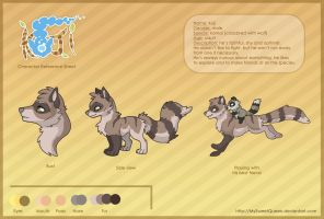 Koji Reference Sheet by MySweetQueen