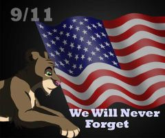 9/11 We will Never forget by Lufca