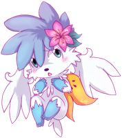 Shaymin Ashy by Skeleion