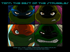 TMNT TBOTS 4 Future Turtles by theblindalley