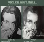 Johnny Depp ~ Draw This Again by lemgras330