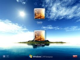 Windows Live Enterprise Login by Marfilgonca