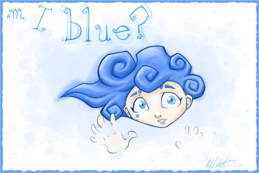 Iris Blue, a First Glimpse by Eluude