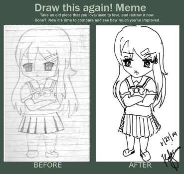 Before And After Meme! by iiRunningColors