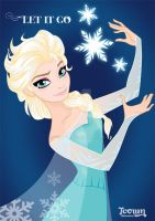 Queen Elsa by toown