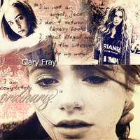 Clary Fray Banner by majestamoniet