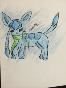 glaceon! by silvaglace