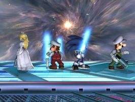 Smash Bros., STAR WARS Style by UKD-DAWG