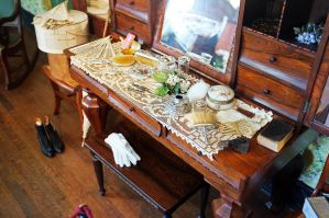 Victorian Ladies Dressing Area by rdswords