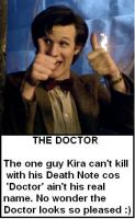 The Doctor by DoctorWhoOne