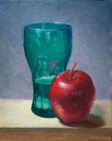 Glass and Apple by BClary
