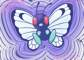 Butterfree by animeAlicia99