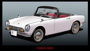 Honda S500-2 by GraphicDream