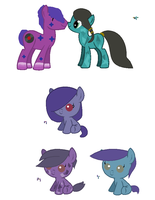 MLP Breedable Babies - Turquoise Shine x GB CLOSED by kitty910