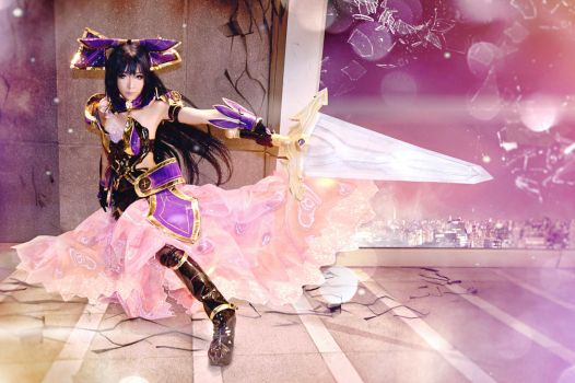 Tohka Yatogami from Date A Live cosplay by yukigodbless