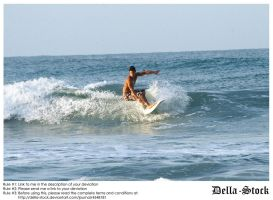 Ponce Inlet Surfer.2 by Della-Stock