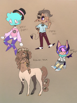 (CLOSED) Doodle adopts by star-stickers