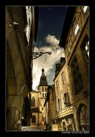 Walking in Sarlat by kil1k