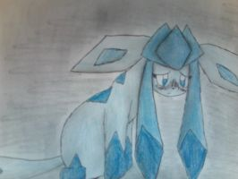 Poor Glaceon by AnarchicalMalkin