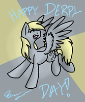 Happy Derpy Daaay~ by ThunderShock0823