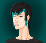 Sad Ezra Digital by CheshireGrinMoon