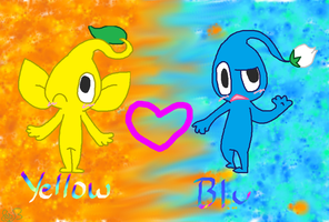 Yellow and Blu by wwiggles