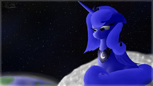 Lunas Lonelyness by Fancymareinblue
