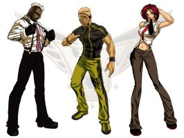 kof2000 team complete by ANGElsilvestre