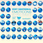 Very Emotional Emoticons by LazyCrazy