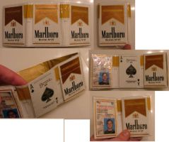 Cigarette Box Wallet by puzzlerf