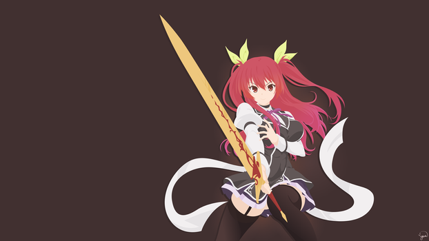 Stella Vermillion {Rakudai Kishi no Cavalry}Vector by greenmapple17
