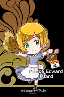 [aph oc] PEI ( phone wallpaper ) by SackDrawer