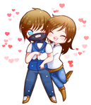 :cmm: Will + Erin by himawari-tan