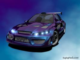 Widebody EG6 No Carbon Fiber by ragingpixels